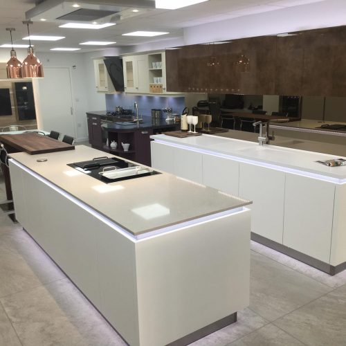Visit our Kitchen Showroom in Oxford Kitchen Design Project